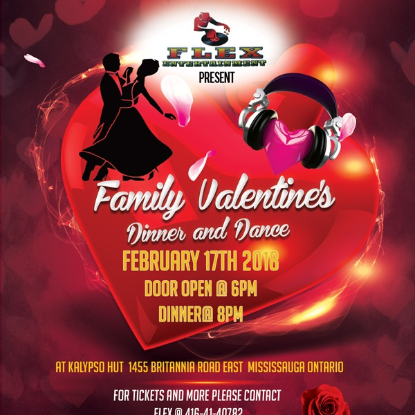 Flex Ent - A  Family Valentine's Dinner and Dance