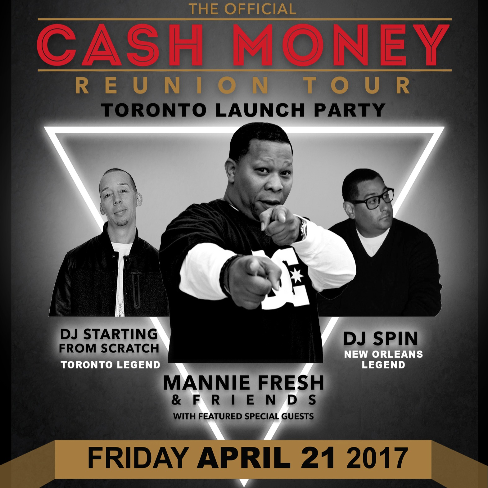 The Official Cash Money Reunion Tour Toronto Launch Party