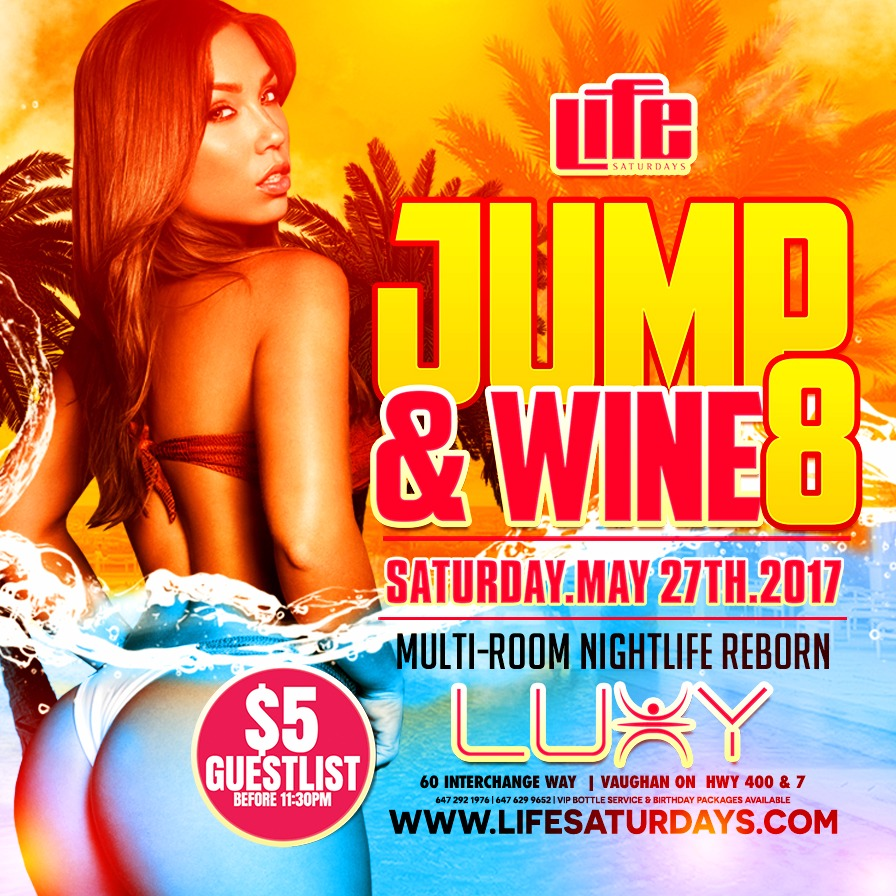 LIFE SATURDAYS - JUMP & WINE 8