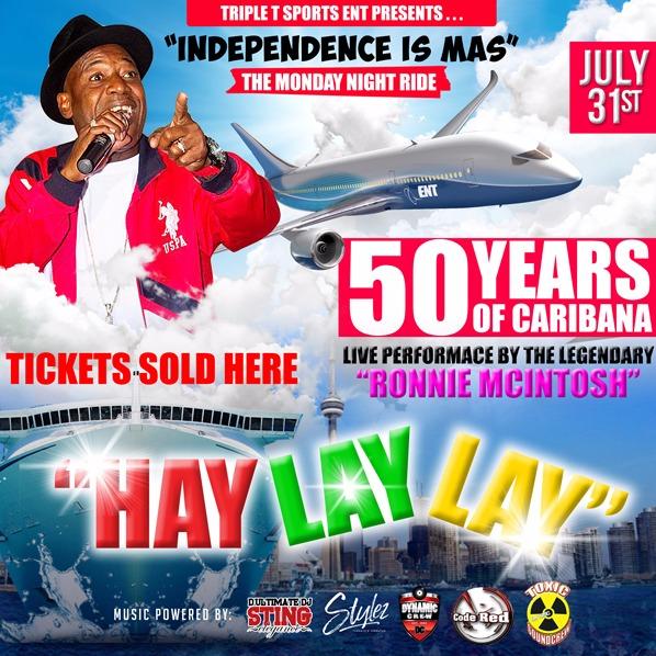 HAY LAY LAY - THE MONDAY NIGHT RIDE