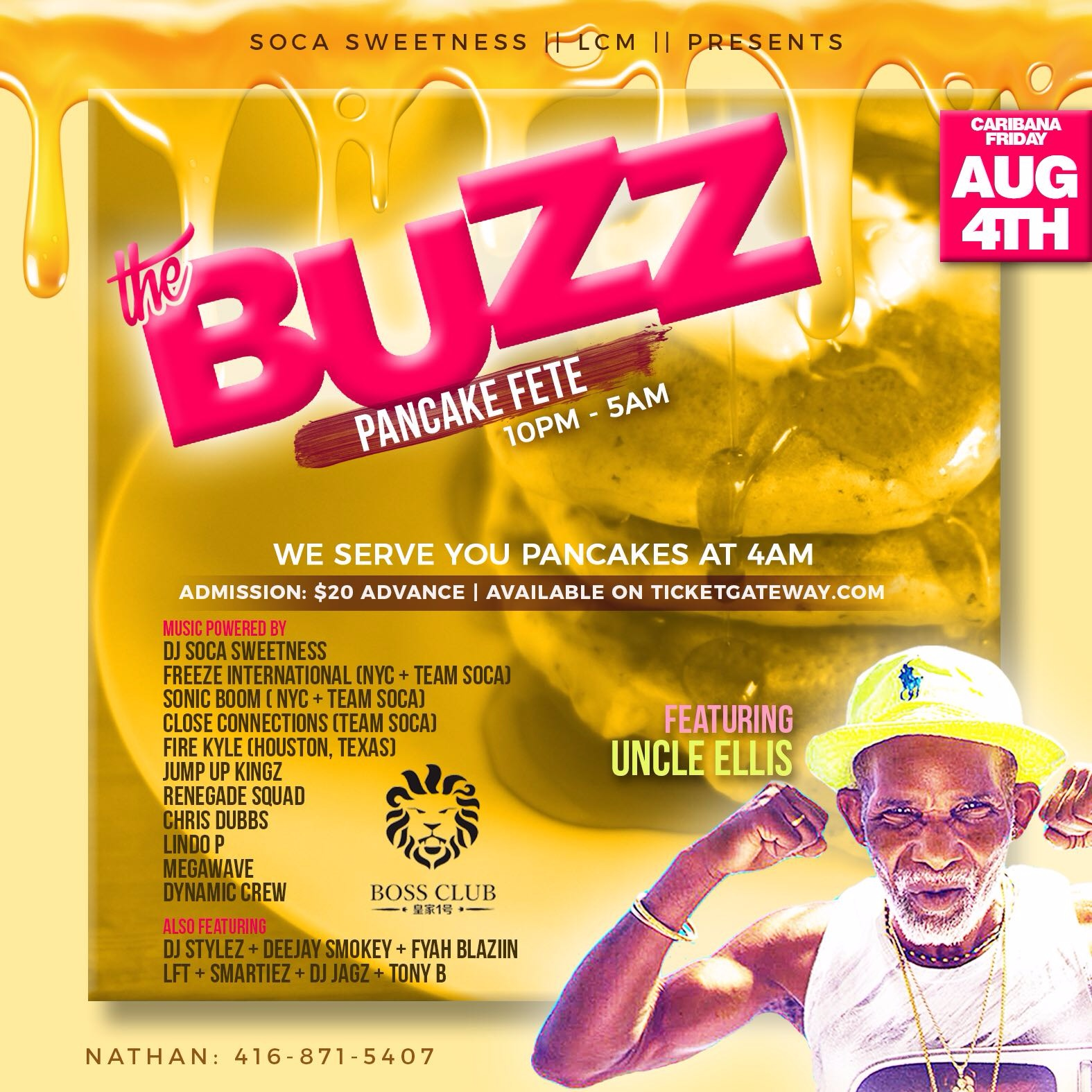 The Buzz International Pancake Fete