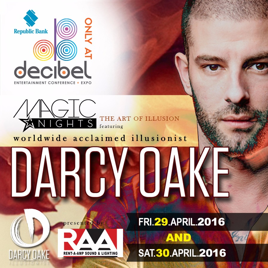 MAGIC NIGHTS FT. DARCY OAKE / 30th April (Early Show)