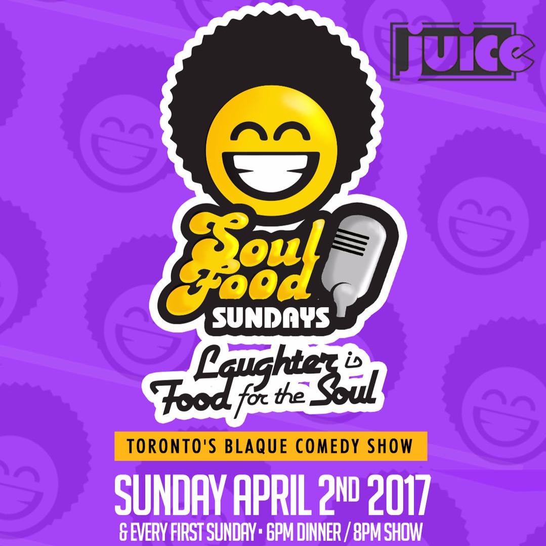 Juice presents Soul Food Sundays April
