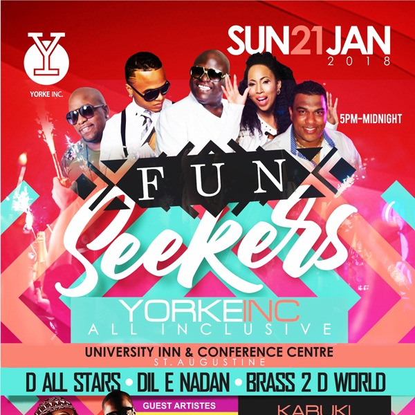 FUN SEEKERS UNITE - YORKE INC ALL INCLUSIVE