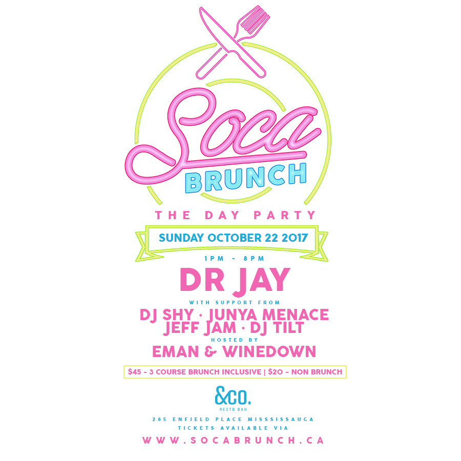 SOCA BRUNCH - THE DAY PARTY