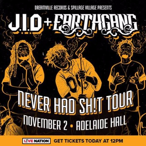 J.I.D. & Earthgang at Adelaide Hall