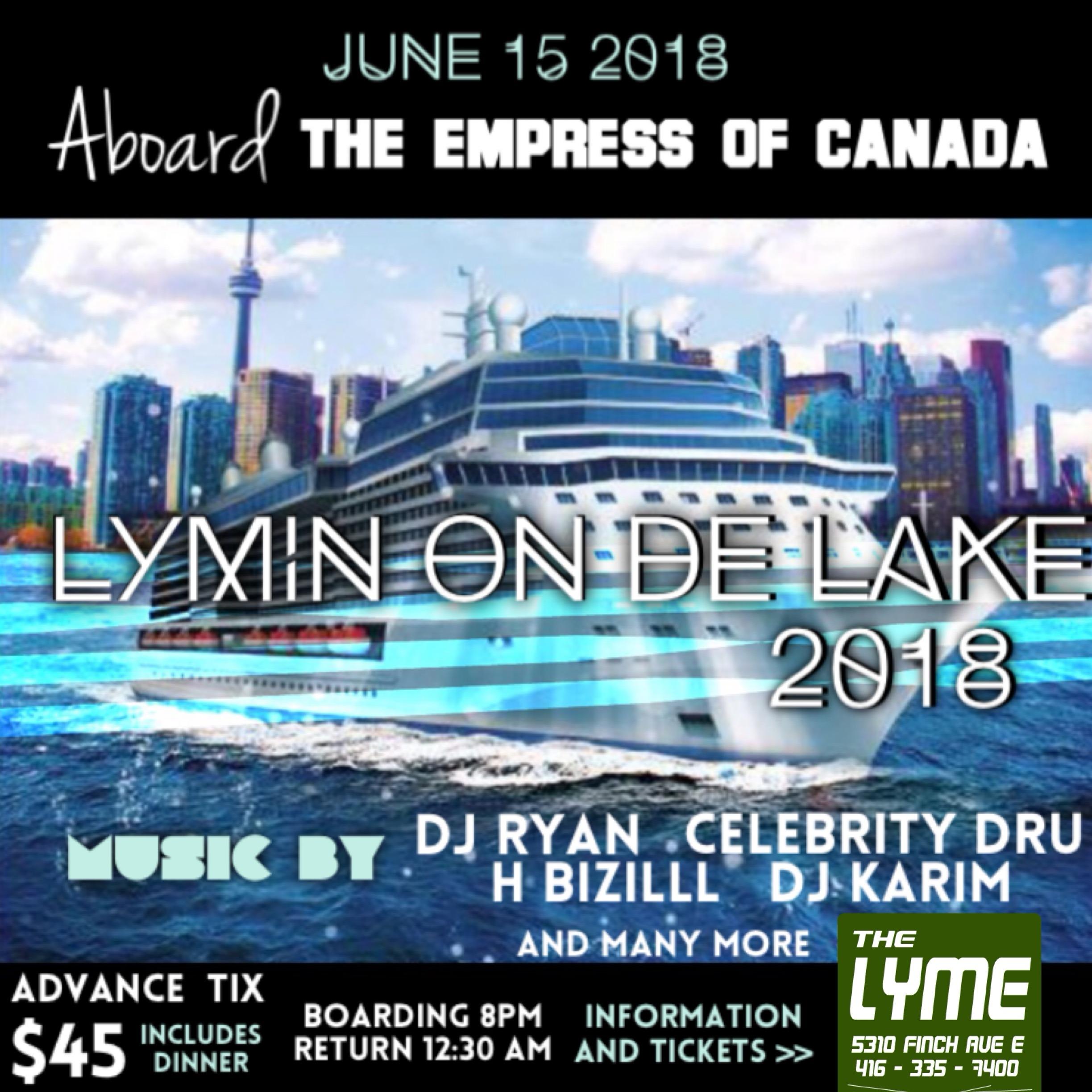 Lymin On De Lake