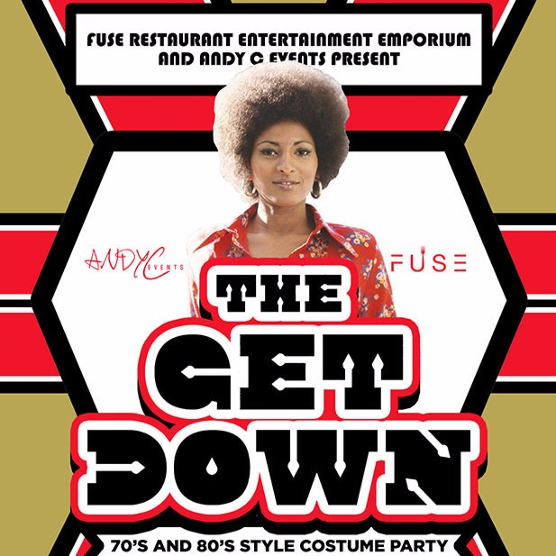THE GET DOWN - 70'S & 80'S STYLE COSTUME PARTY