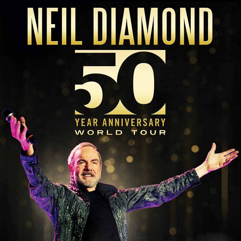 Neil Diamond 50th Anniversary Tour at Madison Square Garden