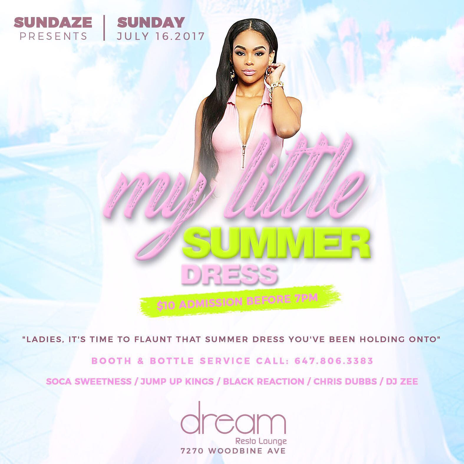 Sundaze Present - My Little SUMMER DRESS