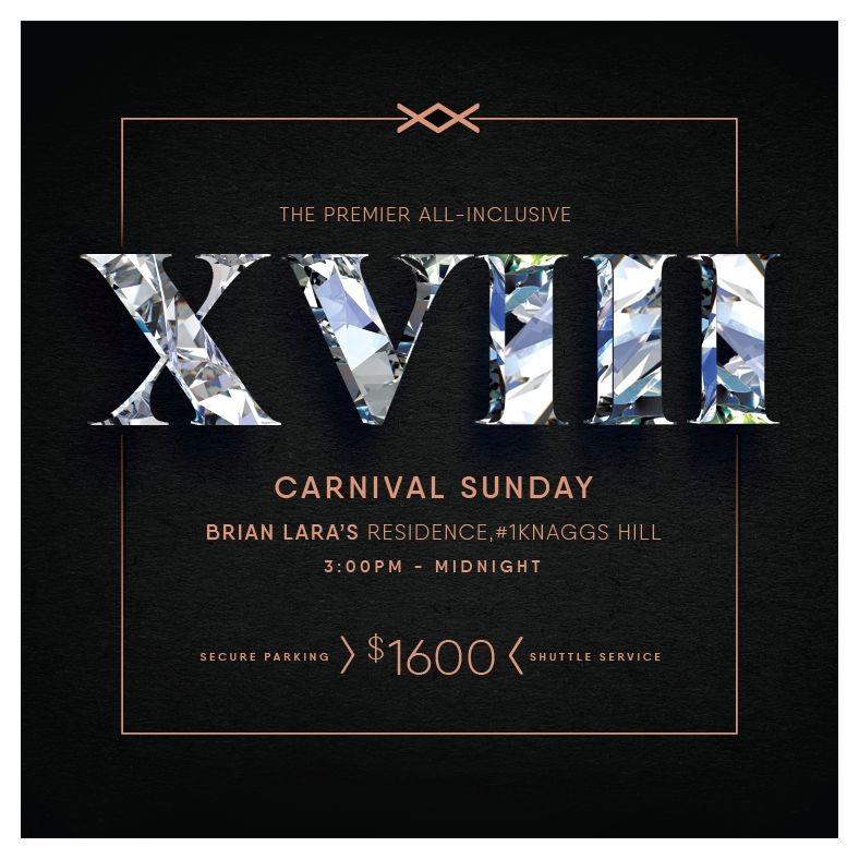 The Premier All Inclusive XVIII - Carnival Sunday