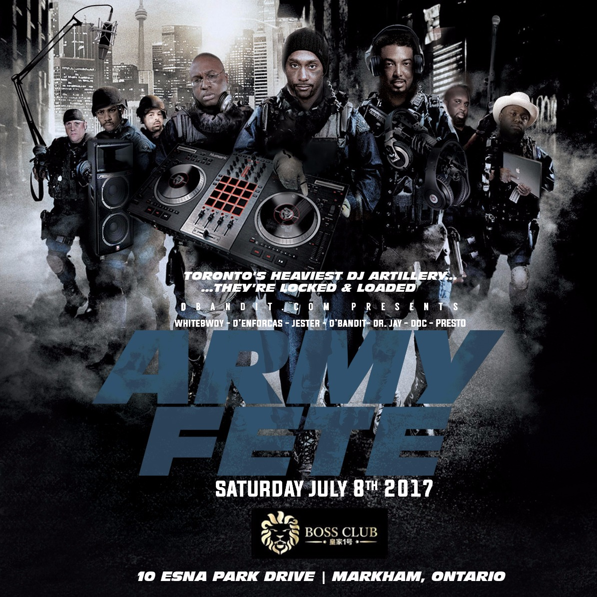 Army Fete 2017 @ Boss Club
