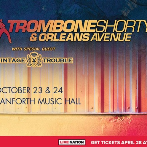 Trombone Shorty and Orleans Avenue at Danforth Music Hall