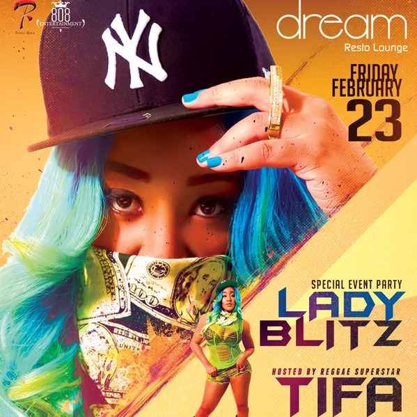 LADY BLITZ HOSTED BY TIFA