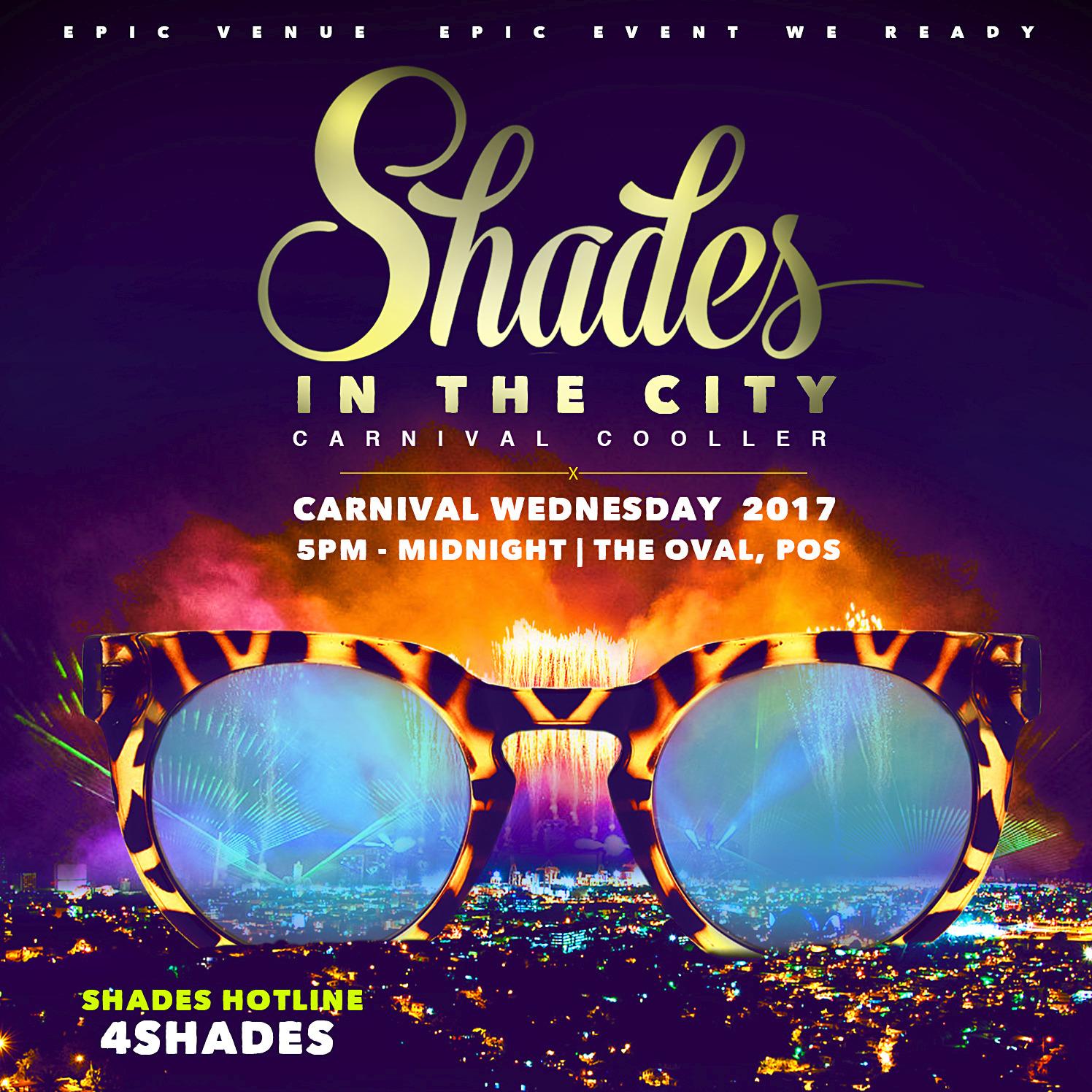 SHADES CARNIVAL COOLER 2017