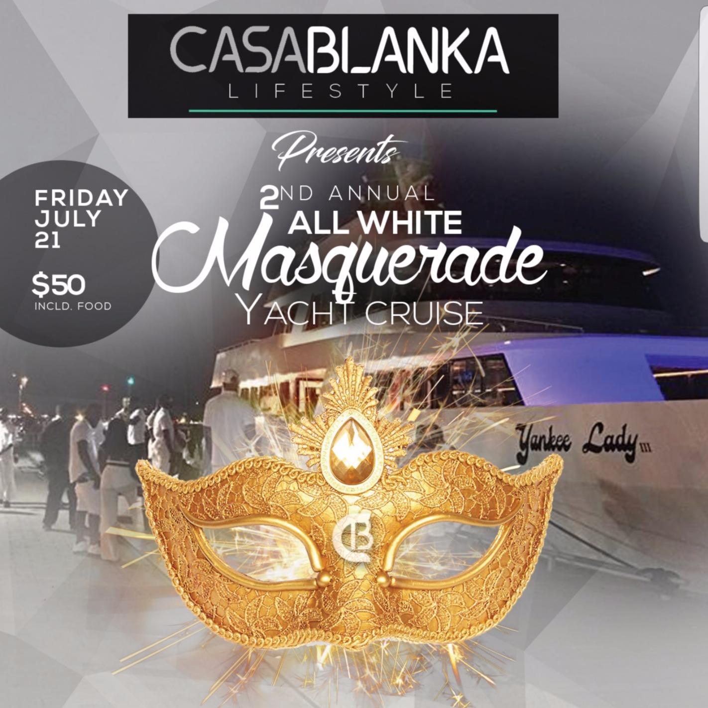 Casablanka - Masquerade Yacht Cruise