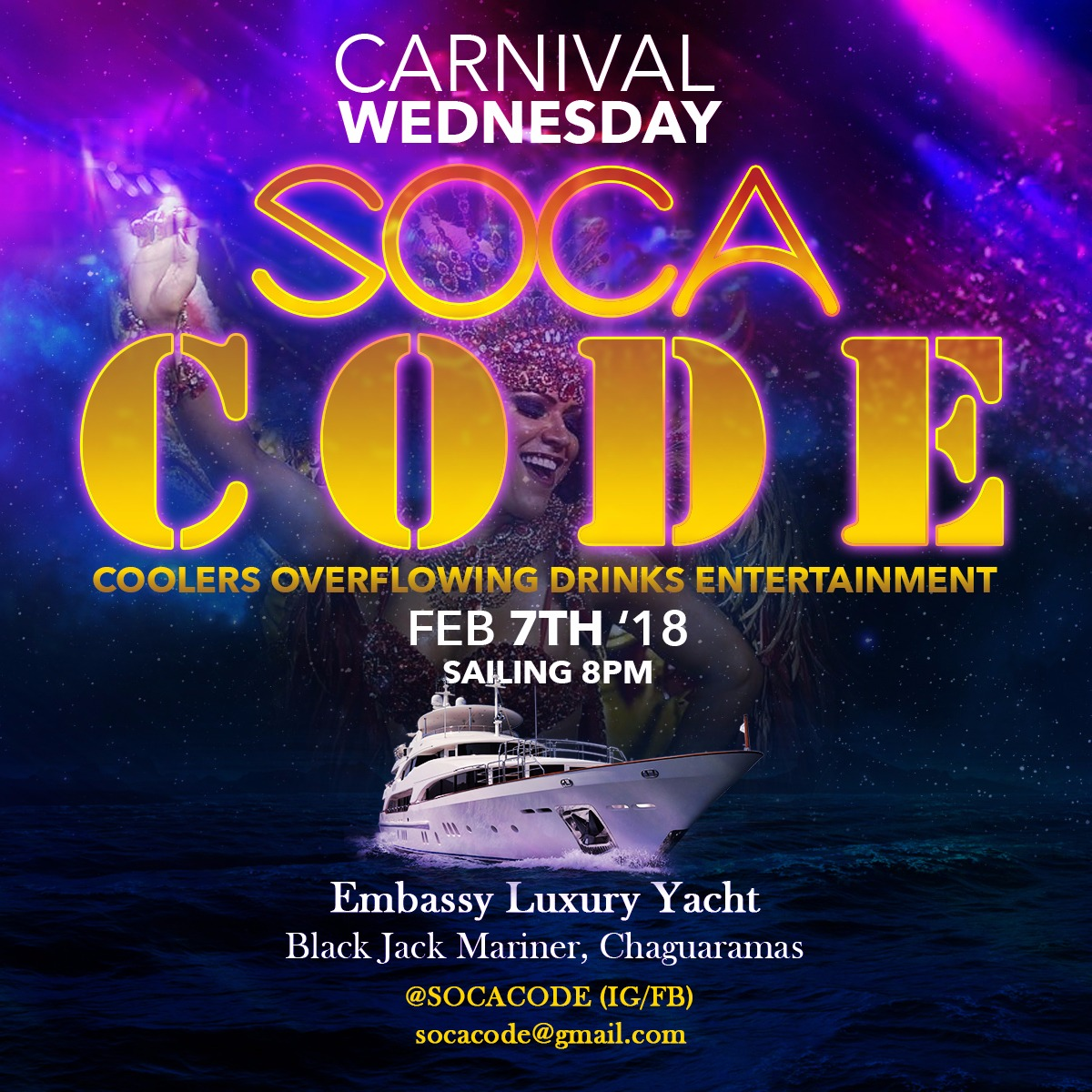 Soca Code - Cooler Cruise