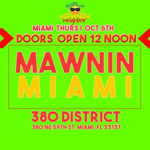 Mawnin Miami 2016