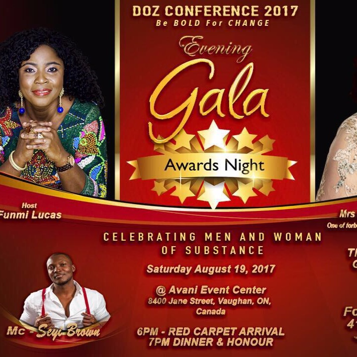 Women and men of substance Gala Event