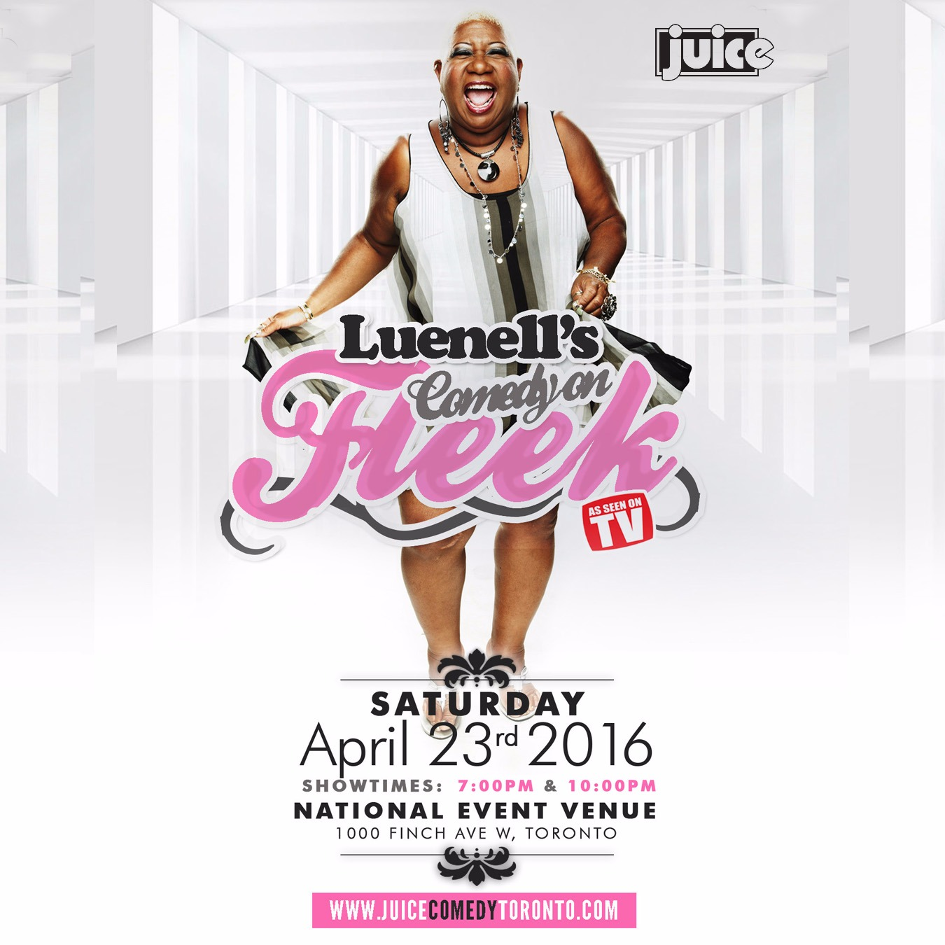 Luenell's Comedy On Fleek in Toronto | 6:00PM (Early Show)