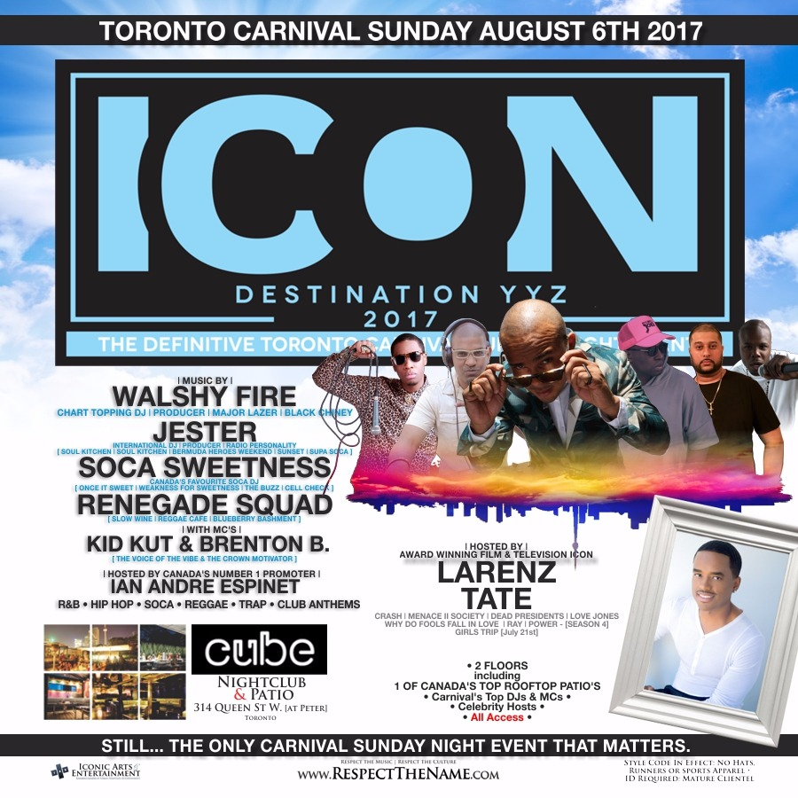 ICON: Destination YYZ - Carnival Edition 2017