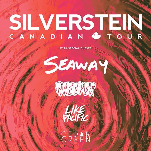Silverstein, Seaway, Creeper, Like Pacific at The Brass Monkey