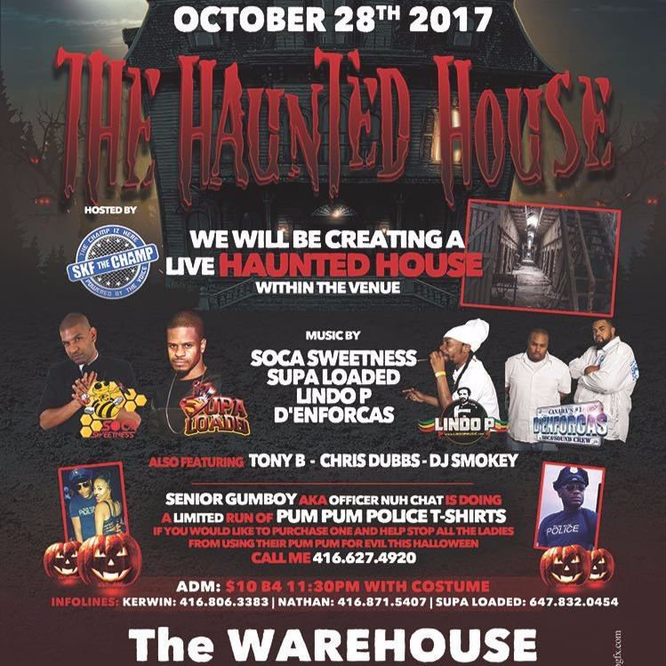 THE HAUNTED HOUSE 2017