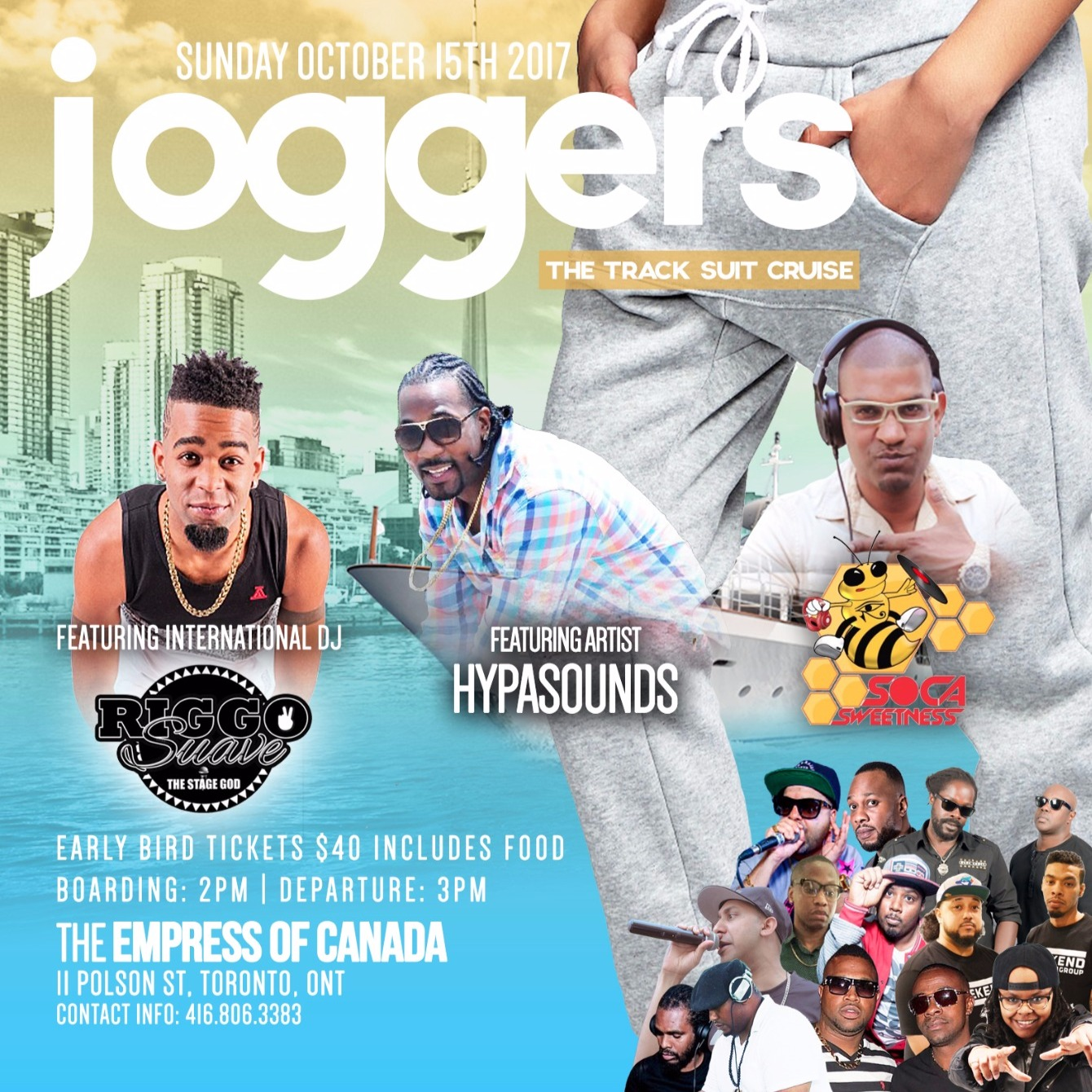 JOGGERS BOAT CRUISE