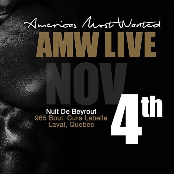 AMW LIVE TOUR - MONTREAL