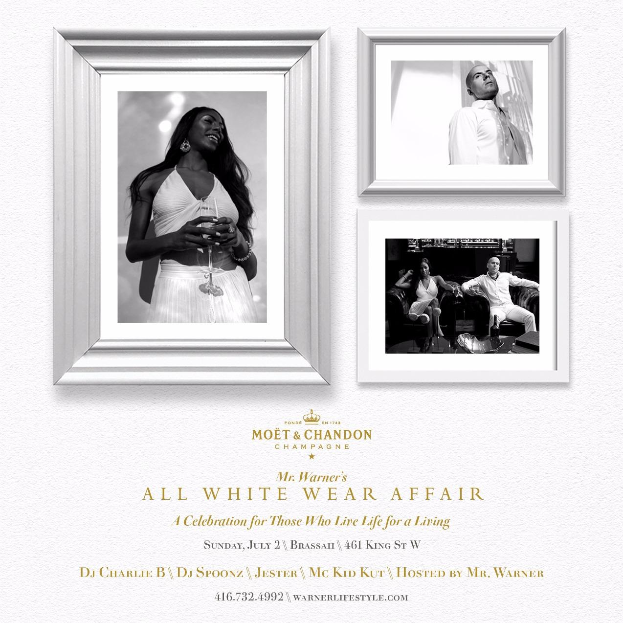 Mr. Warner's ALL WHITE WEAR AFFAIR 2017
