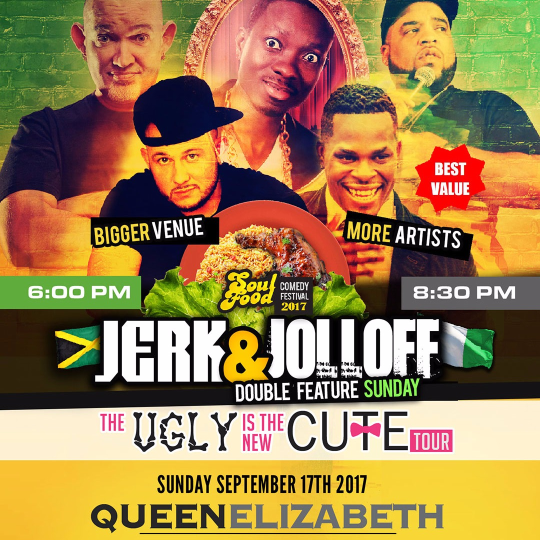 DBL feature Jerk & Jolloff Sunday Feat White Yardie, Micheal Blackson, Dulo & Reedo Brown (Soul Food Comedy Festival 2017)