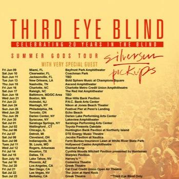 Third Eye Blind at PNC Bank Arts Center