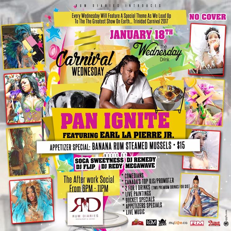 Carnival Wednesday PAN IGNITE