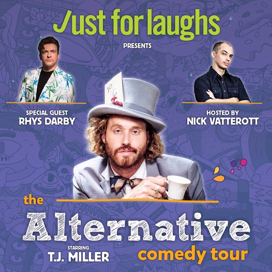 The Alternative Comedy Tour Ft. T.J. Miller at Hamilton