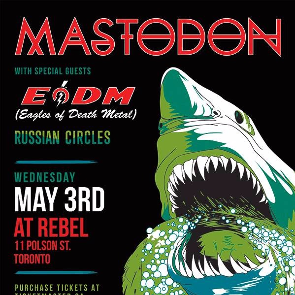 Mastodon at Rebel