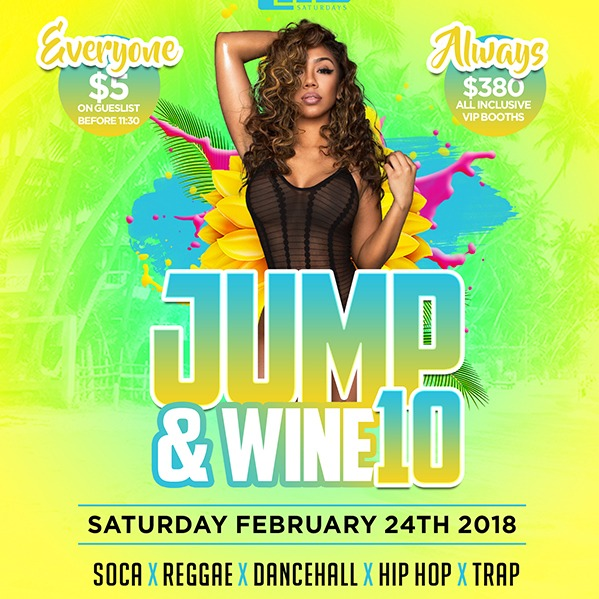 Life Saturday's - Jump & Wine 10
