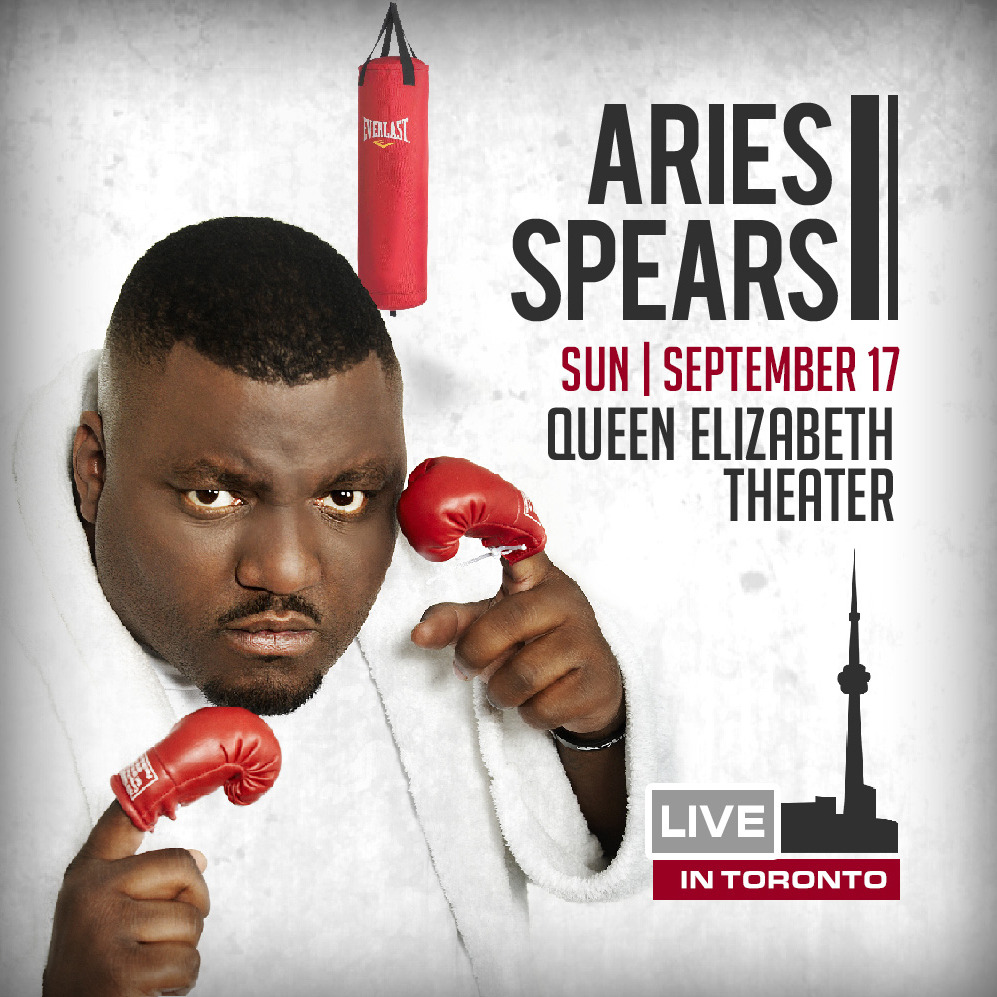 Aries Spears LIVE in Toronto  (Soul Food Comedy Festival 2017)