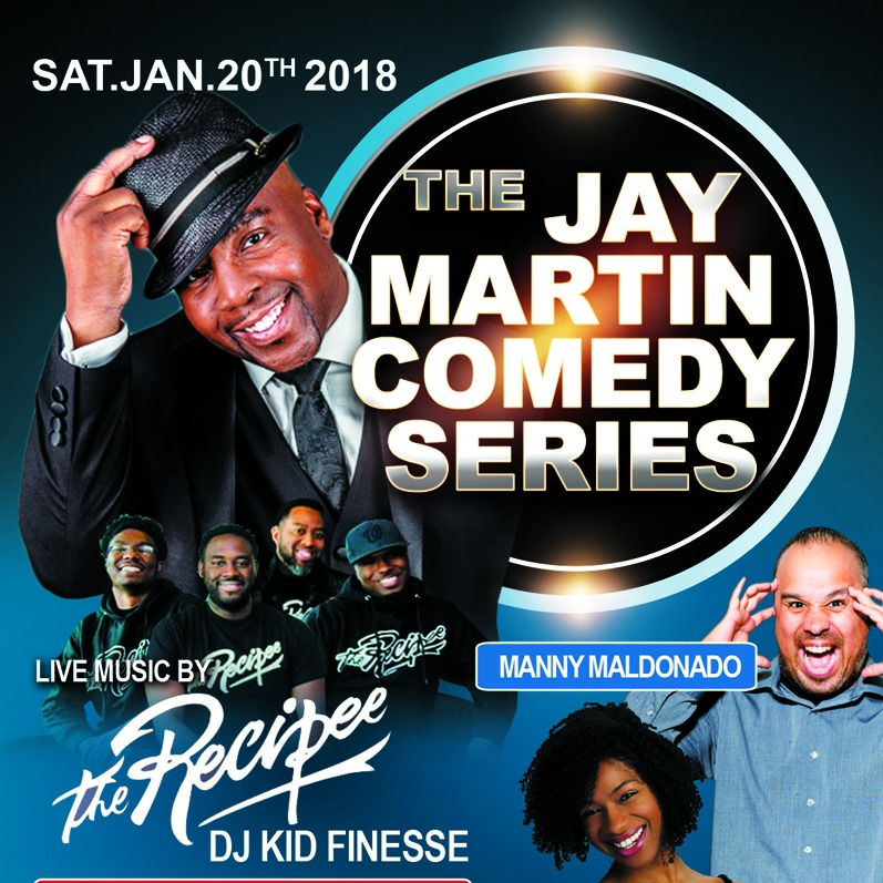 THE JAY MARTIN COMEDY SERIES
