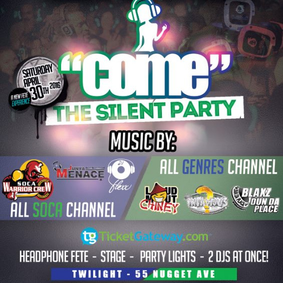 COME FETE 2016 - THE SILENT PARTY