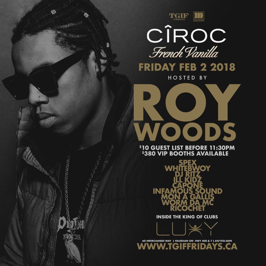 TGIF FRIDAYS - ROY WOODS