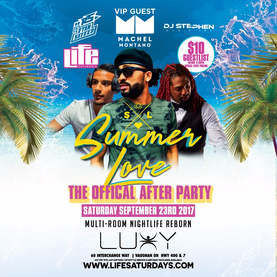 The Official SUMMER LOVE Afterparty
