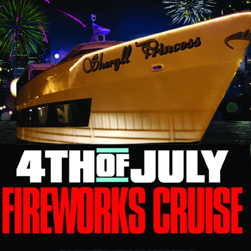 2017 MACY'S 4th of JULY FIREWORKS CRUISE • BROOKLYN, NEW YORK