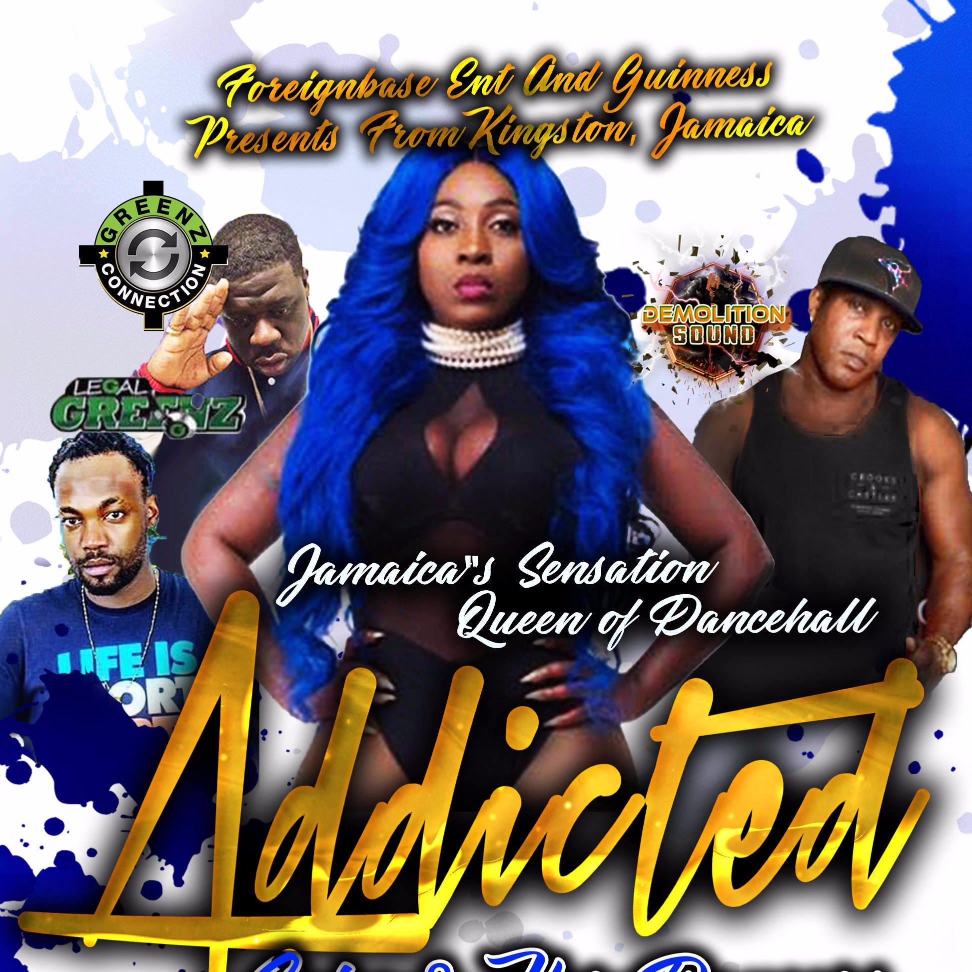 ADDICTED - SPICE & HER DANCERS