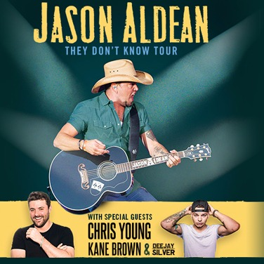 Jason Aldean - They Don't Know Tour at Budweiser Stage