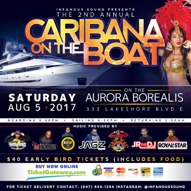 Caribana On The Boat Part 2
