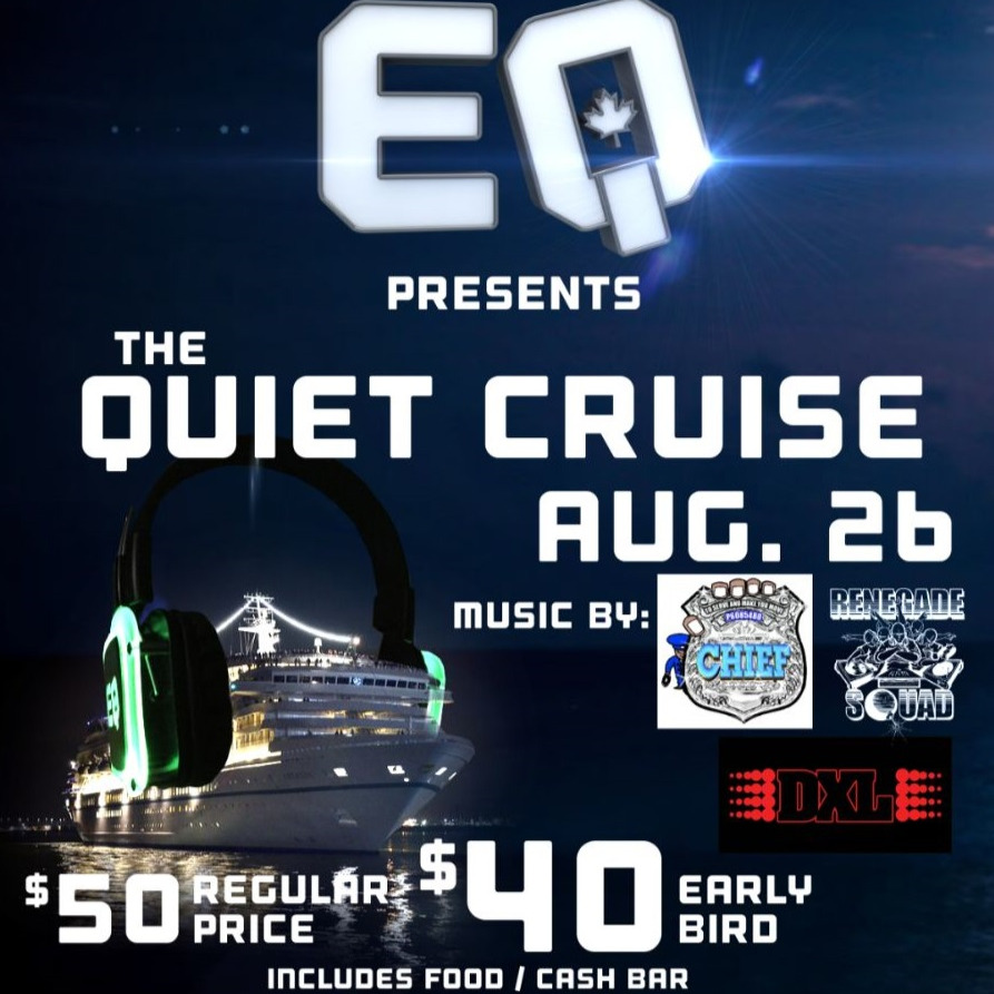 QUIET CRUISE - Headphone Food Inclusive Party