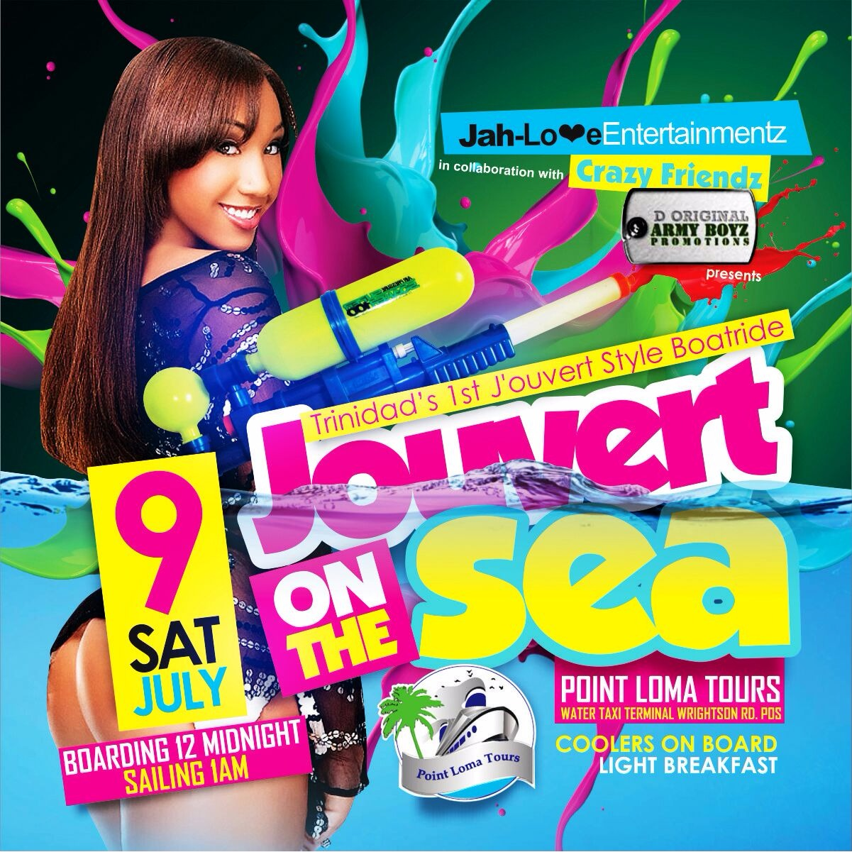 J'ouvert on the Seas