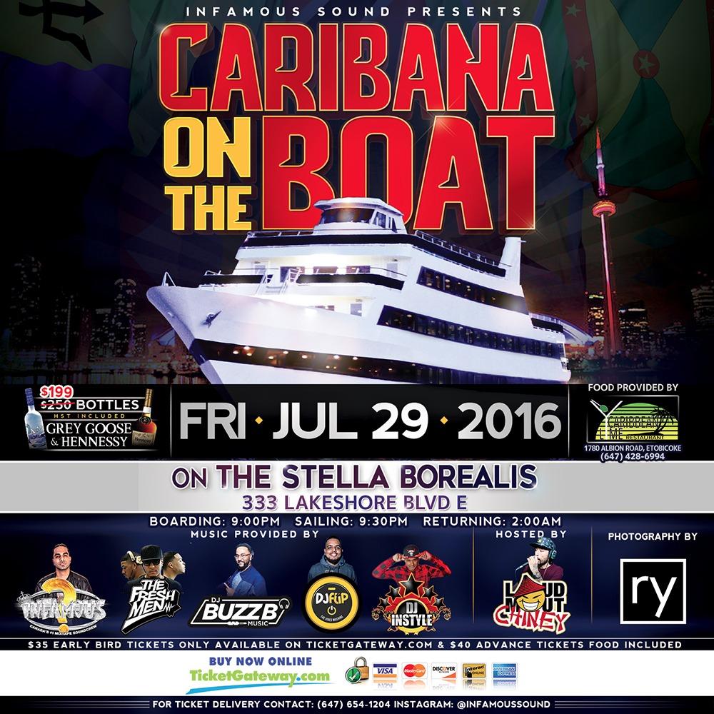 Caribana On The Boat