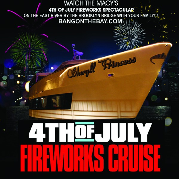 2018 MACY'S 4th of JULY FIREWORKS CRUISE • BROOKLYN, NEW YORK