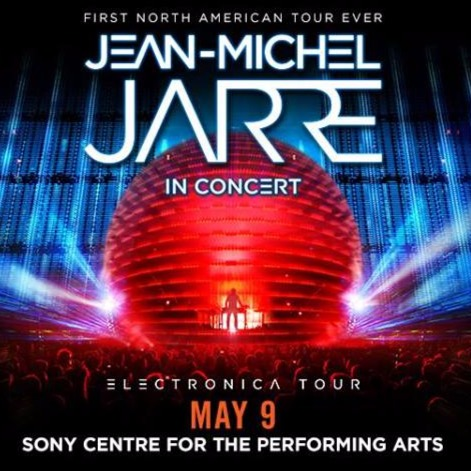 Jean-Michel Jarre at Sony Centre For Performing Arts